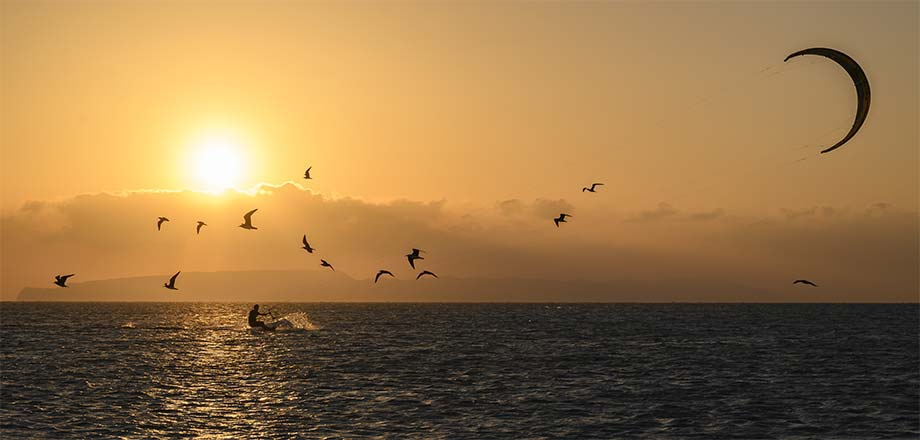 Red Sea Unlimited - safari live-aboard sunset